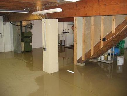 kitchener flooded basement